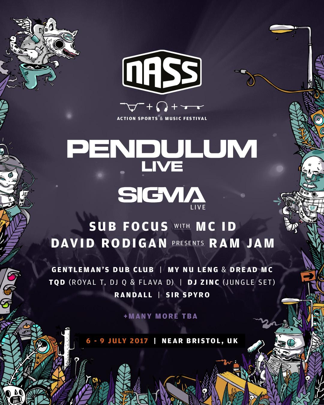 NASS 2017 Line Up