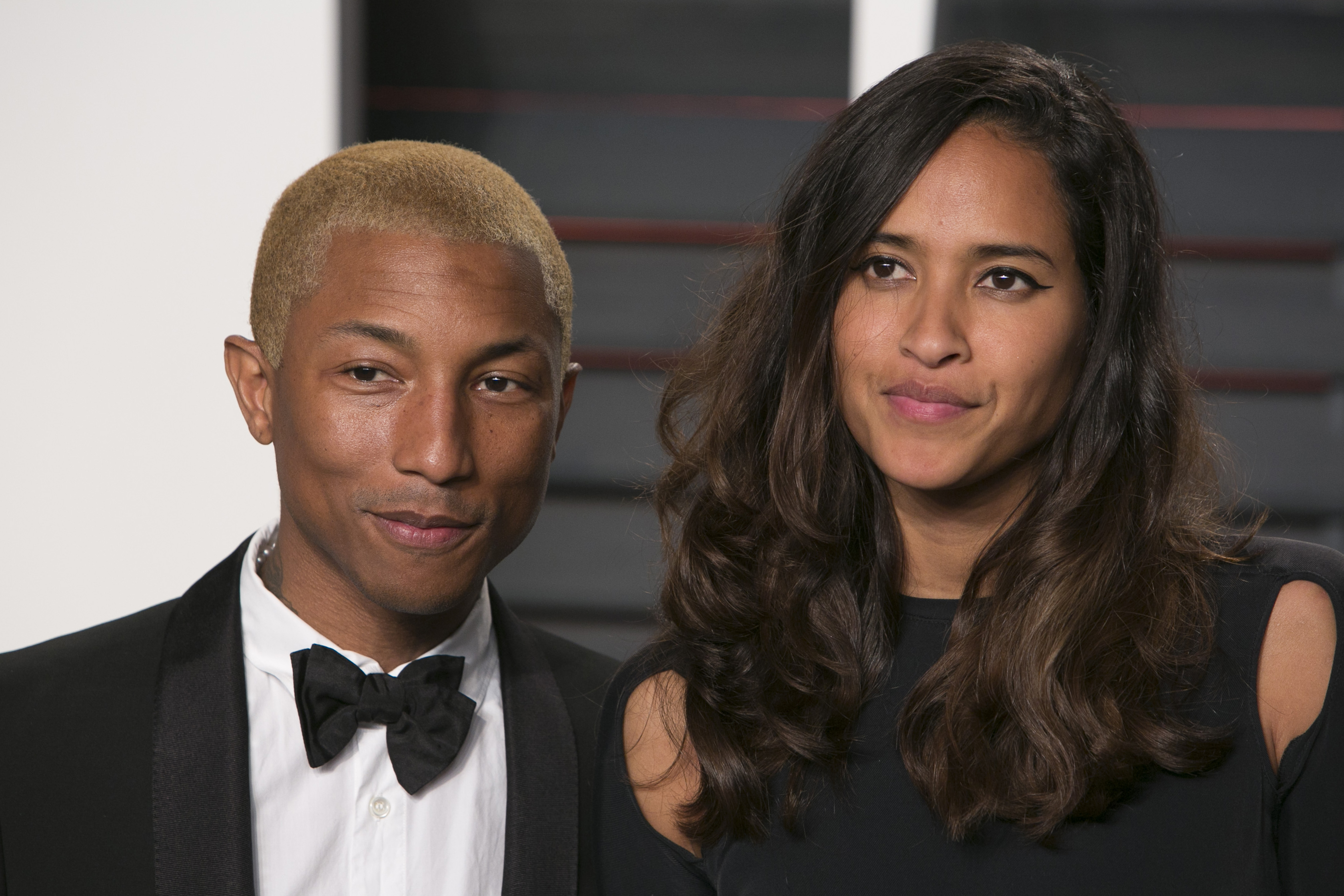 Pharrell Williams And Wife Helen Lasichanh