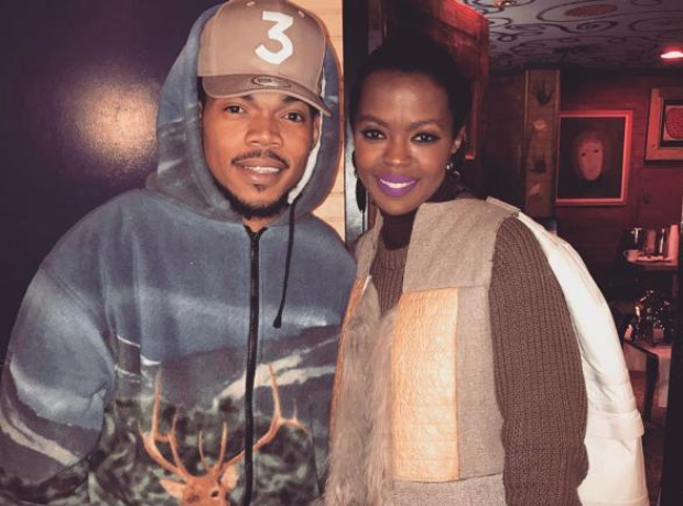 Chance The Rapper and Lauryn Hill