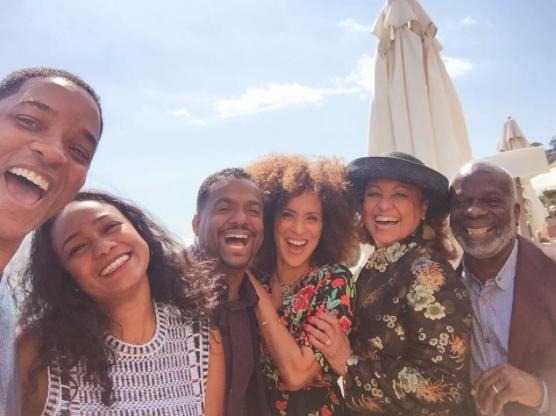 Original Aunt Viv is not happy with 'Fresh Prince' reunion photo