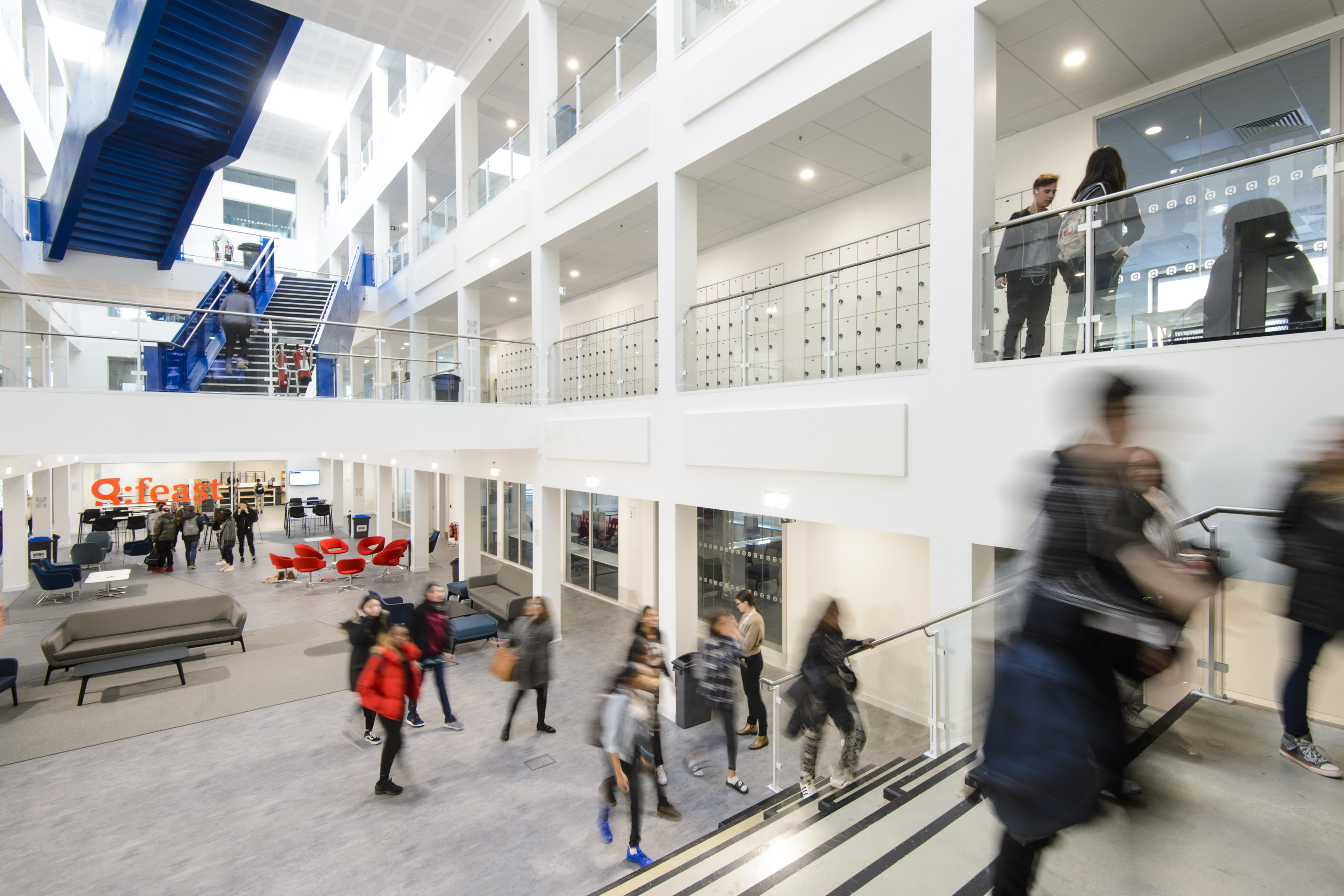 Global Academy interior