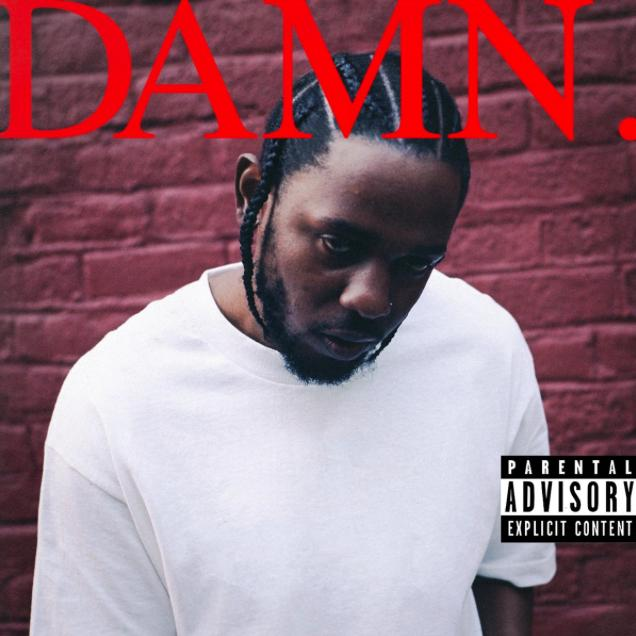 Kendrick Lamar DAMN album Artwork 1