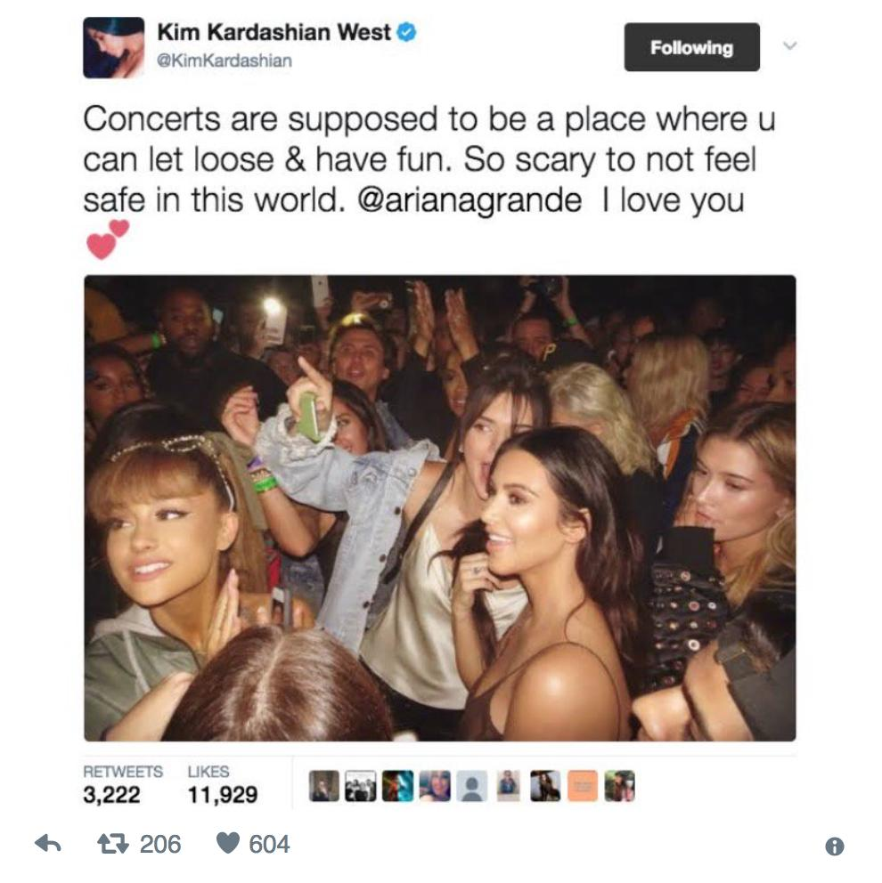 Fans Defend Kim Kardashian After She Deletes Instagram About Manchester Bombing