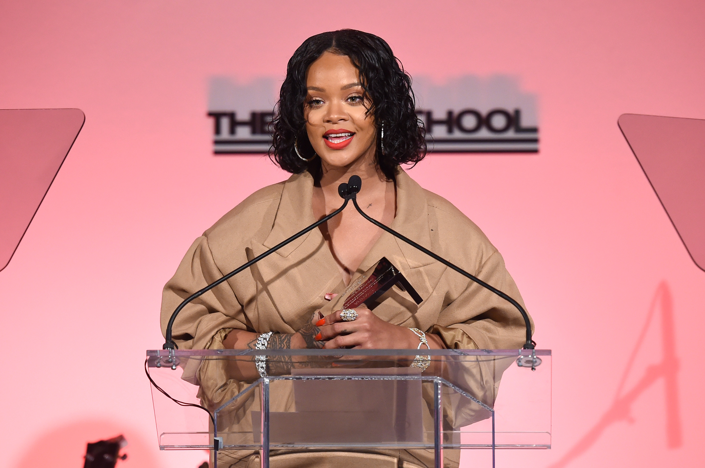 Rihanna honoured at 69th Annual Parsons Benefit
