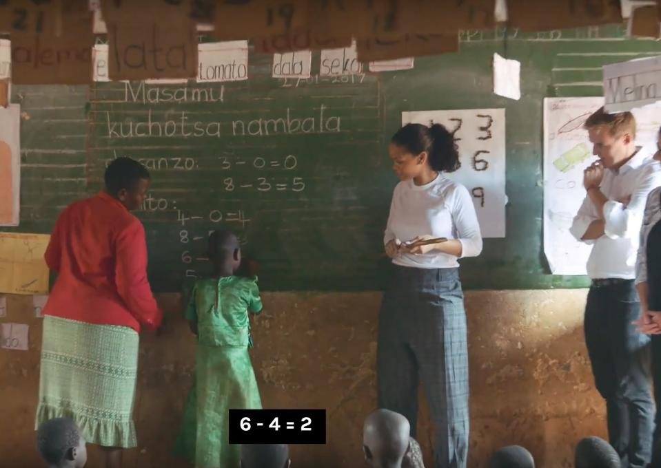 Rihanna Is The Best Math Teacher Ever In This Heartwarming Short Doc