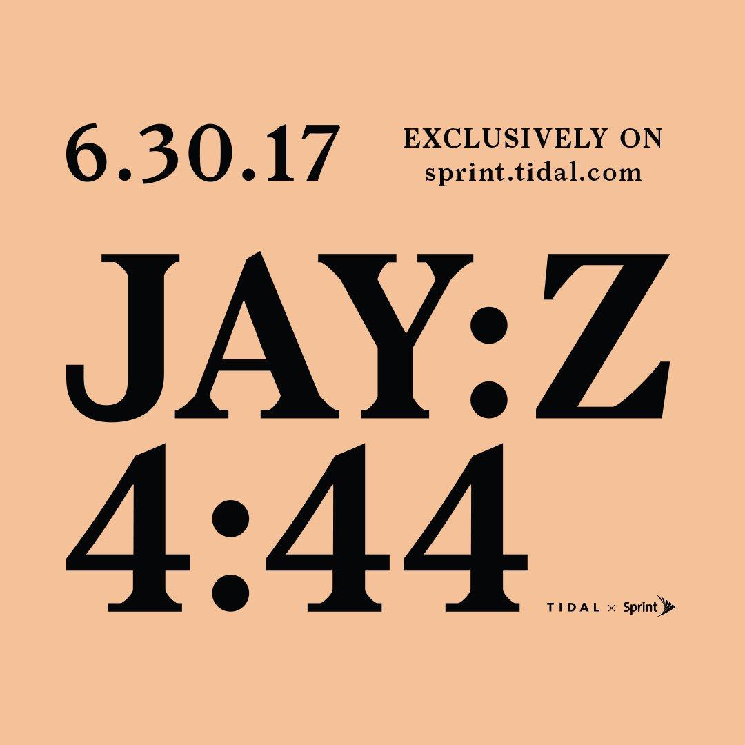 Jay Z 4:44 album