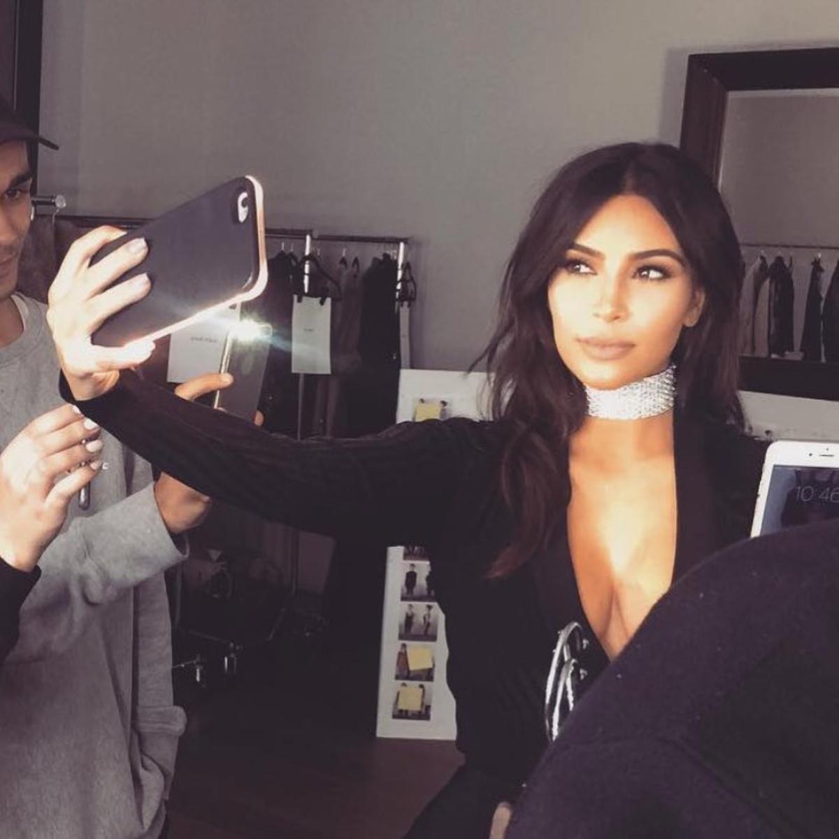 Kim Kardashian LuMee phone cases