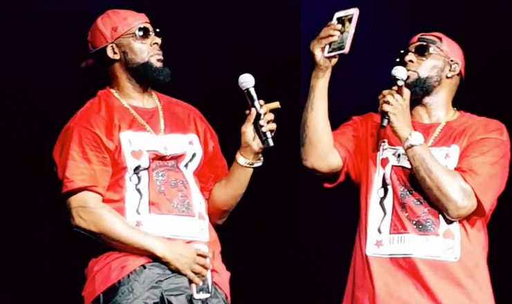 R. Kelly calls sex cult rumors 'crap' while promoting tour
