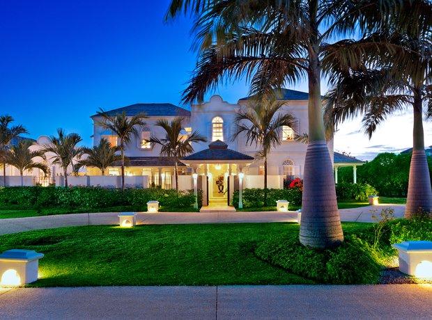 Rihanna's home in Barbados