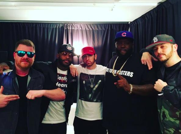 Eminem and Run The Jewels