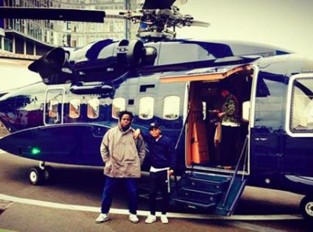 Jay Z's helicopter