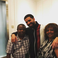 Image 10: Drake pictured alongside The Weeknd's parents.