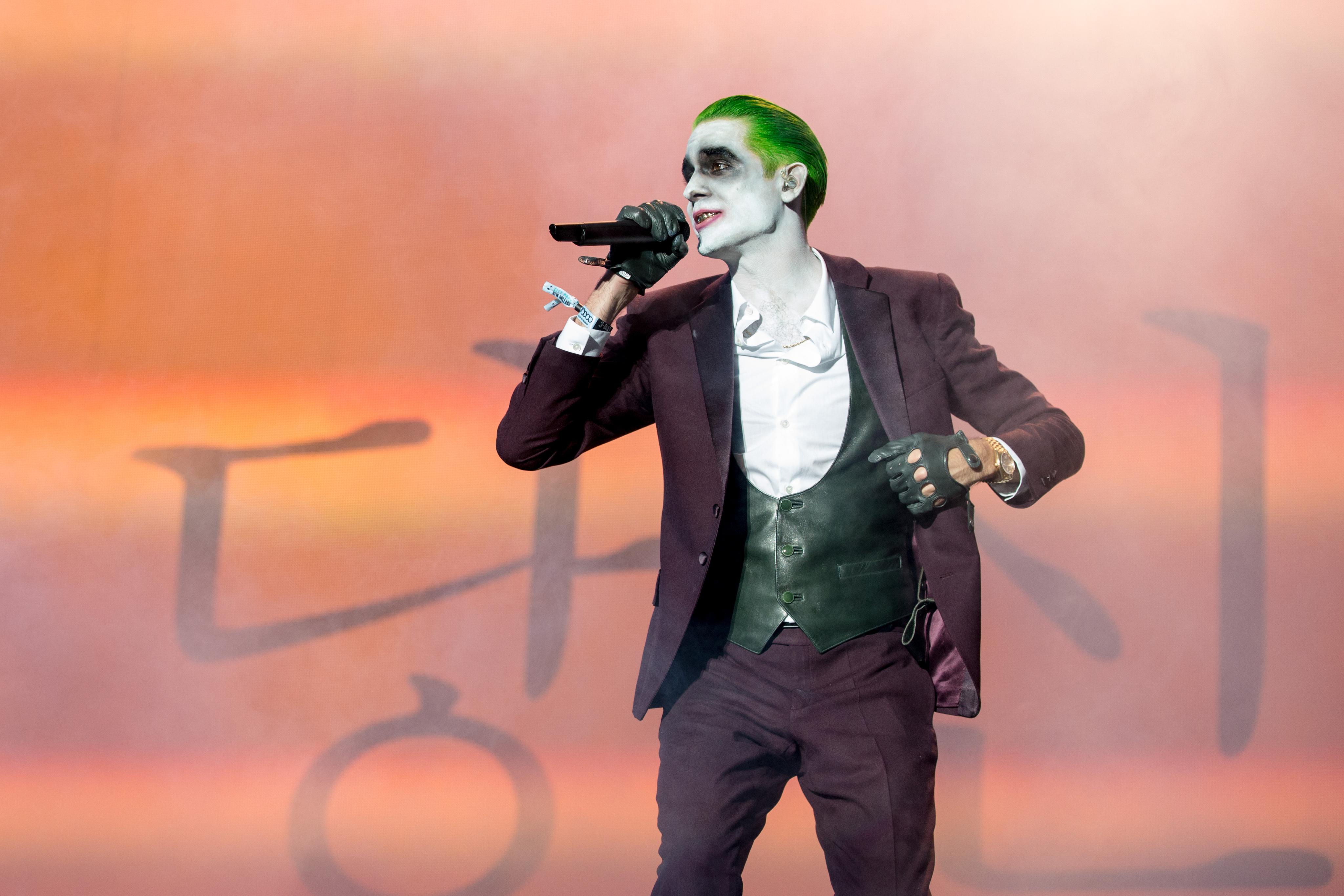 G Eazy as The Joker