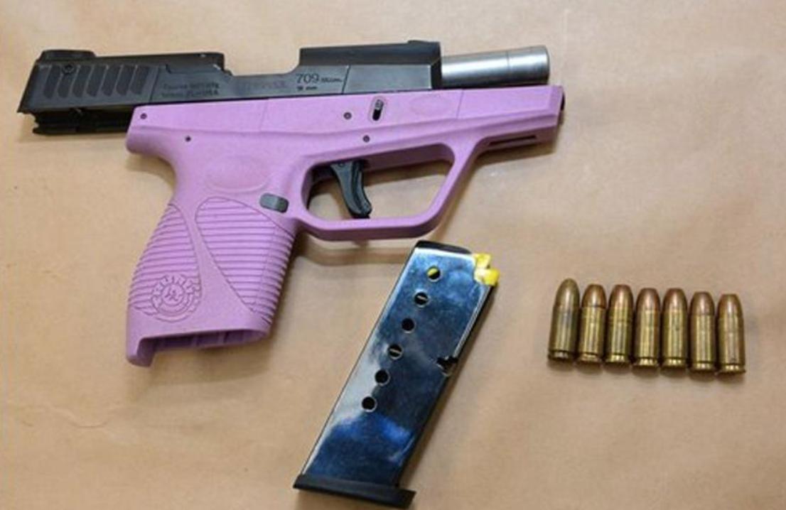 Hot Felon Loaded Gun