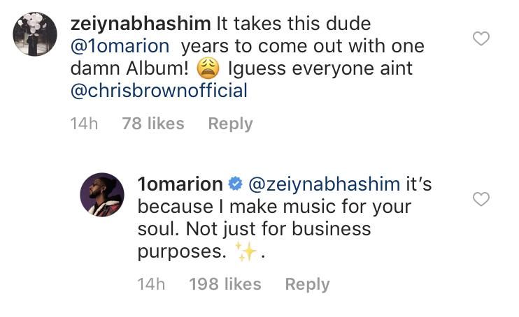 Omarion Chris Brown Beef