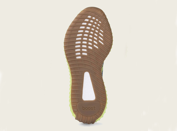 Adidas Yeezy Semi Frozen Yellow V2