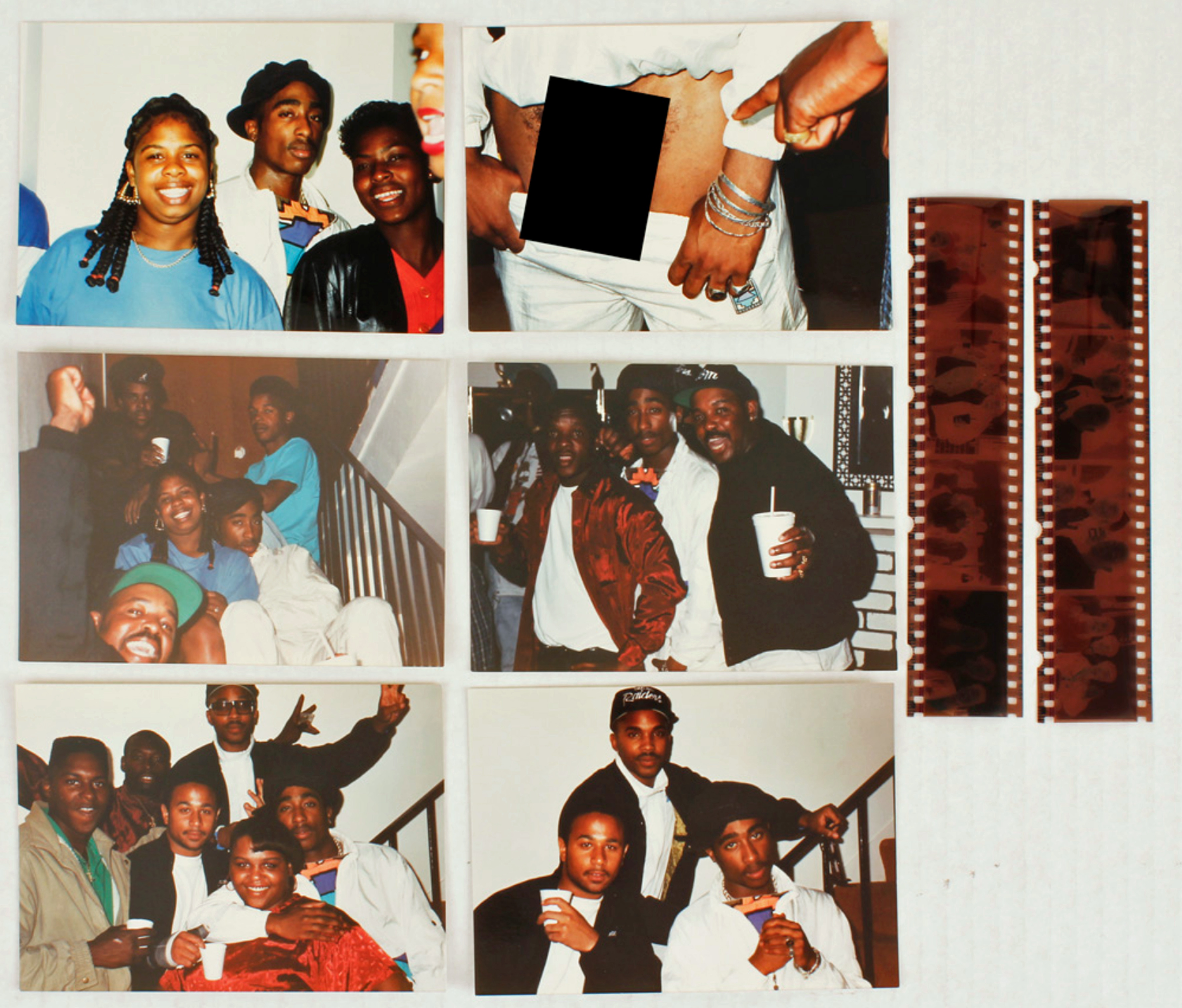 Tupac Shakur auction with Gotta Have Rock and Roll