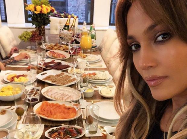 J Lo Thanksgiving