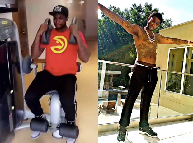 Gucci Mane fitness