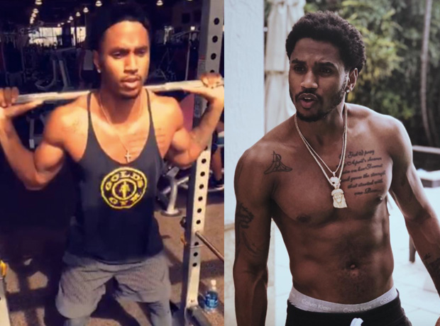 Trey Songz Abs Workout