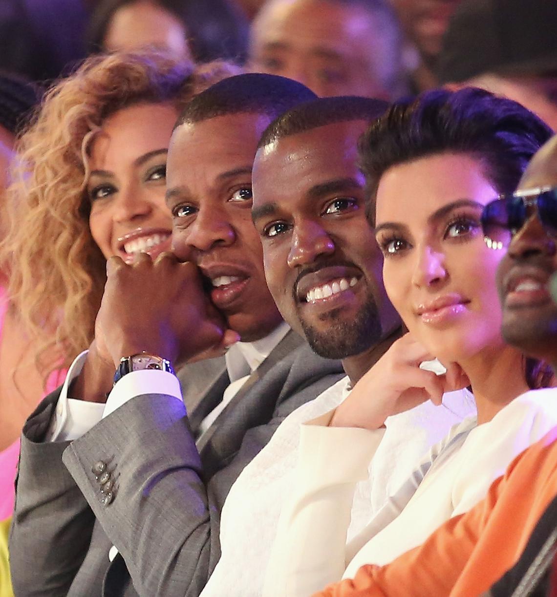 Kanye West Kim Kardashian JAY-Z Beyonce