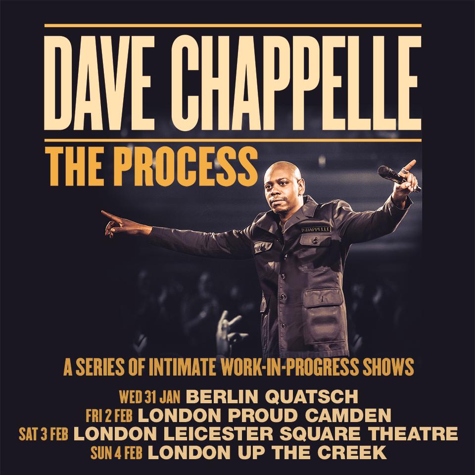 Dave Chappelle Live Tour