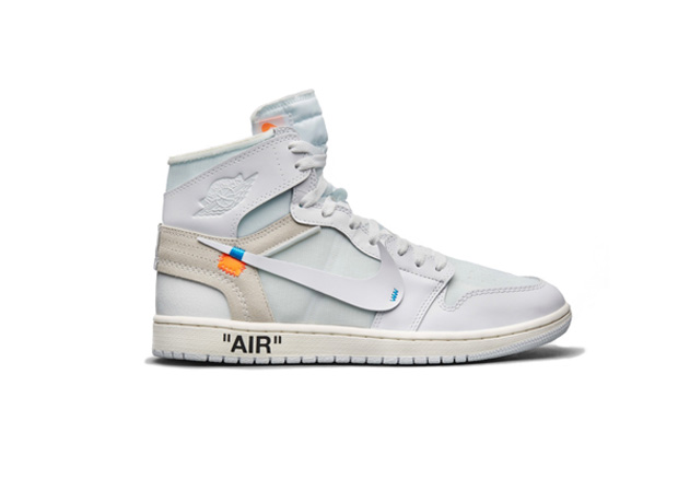 Virgin Abloh Off White Air Jordan 1