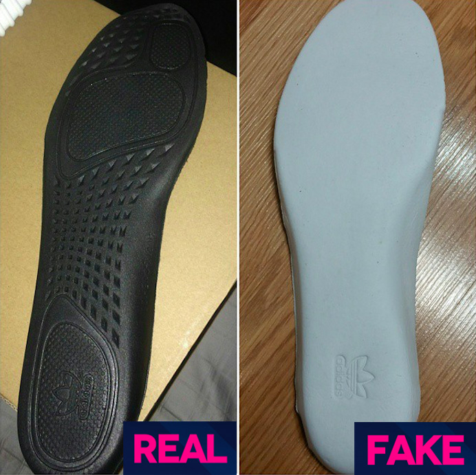 Fake Yeezy sole