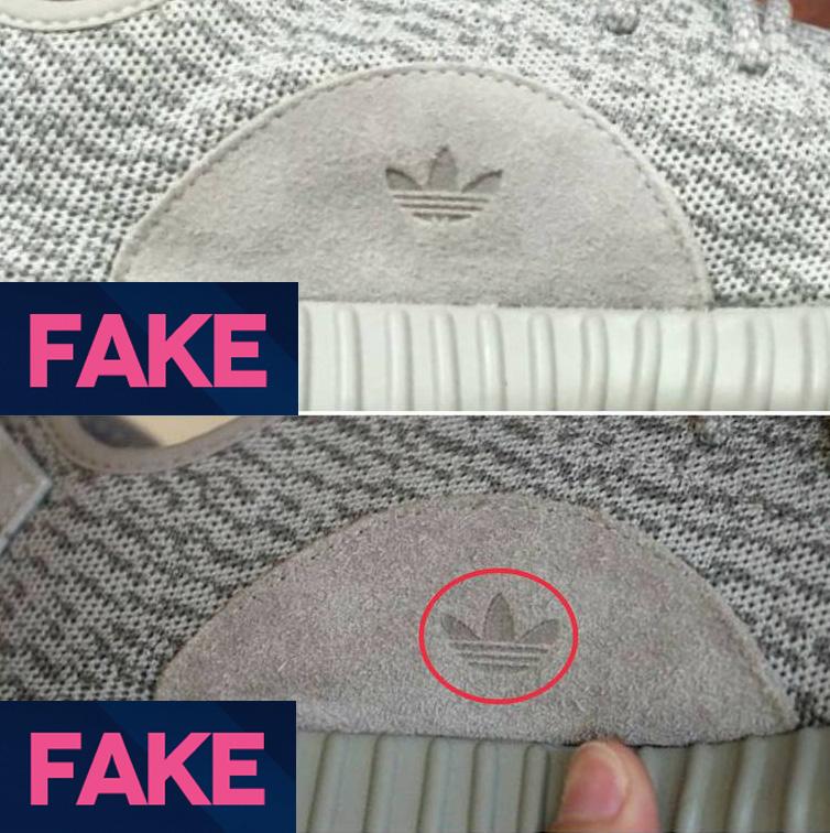 Fake Yeezy's - YZY & Trefoil Logos