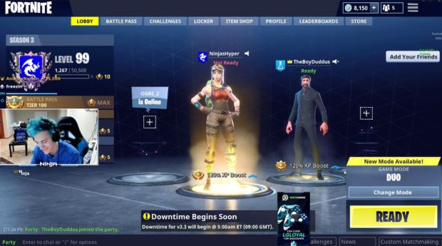 Drake and Travis Scott Play 'Fortnite' Video Game With Popular Streamer Ninja