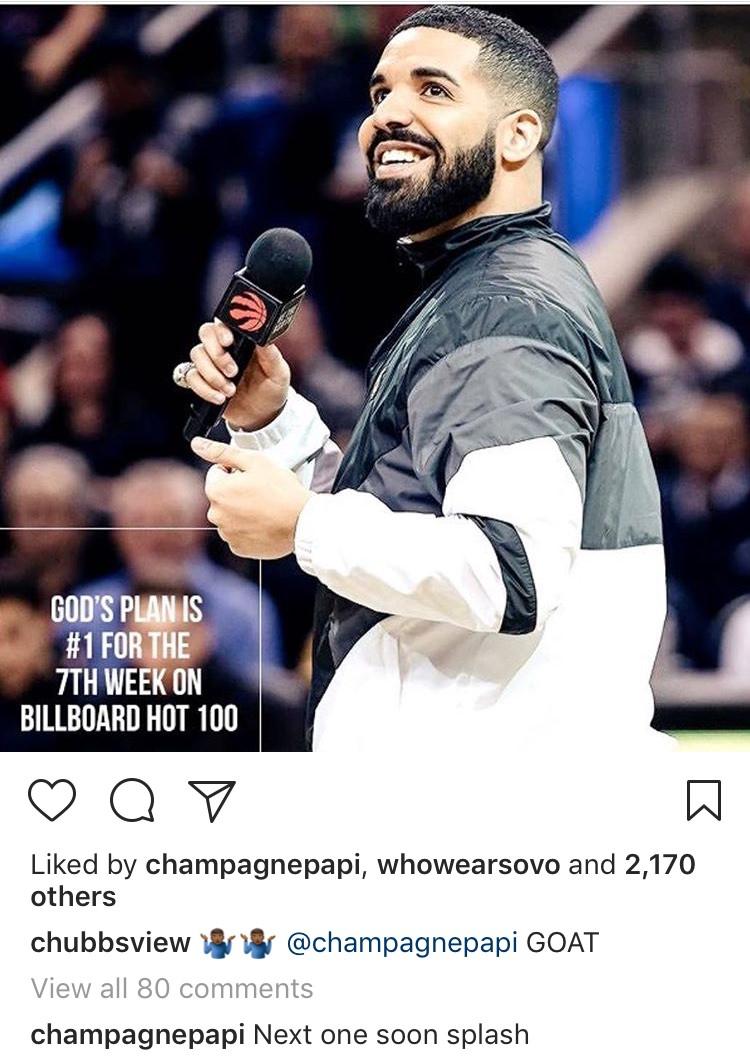 Drake New Single Instagram