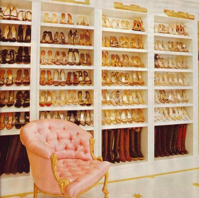 Mariah Carey closet