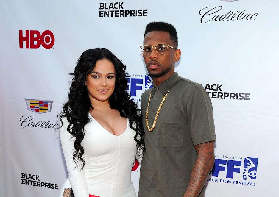 Emily B. and rapper Fabolous