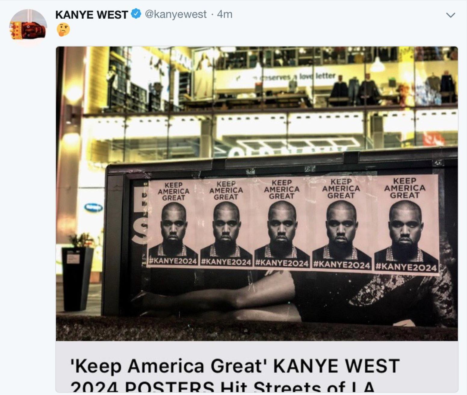 Kanye West Eats The Red Pill From Candace Owens