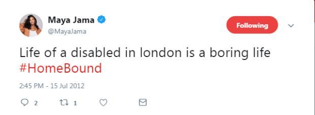 Maya Jama Offensive Tweets