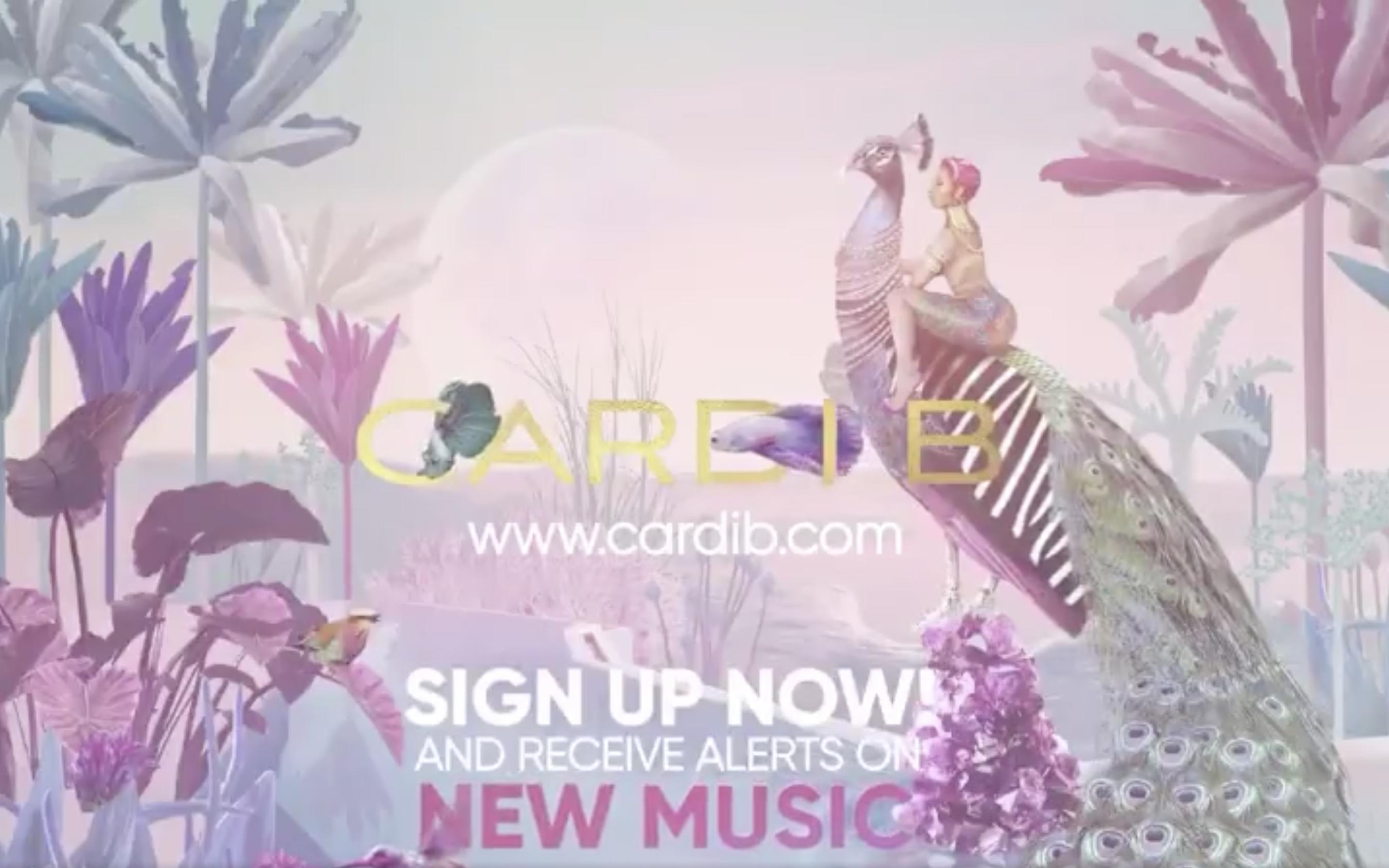 Cardi B new music
