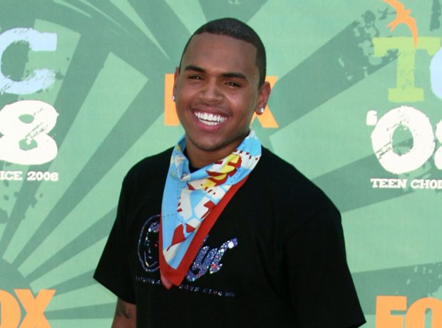 Singer Chris Brown.