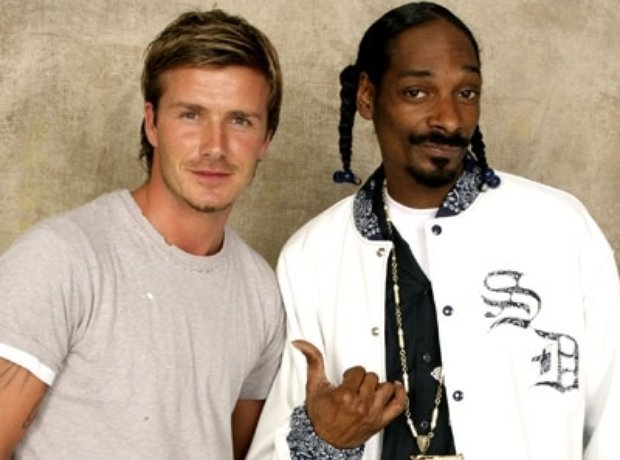 Snoop Dogg & David Beckham
