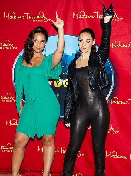 Alicia Keys Madame Tussauds