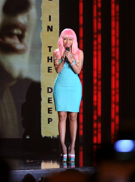 Nicki Minaj at the Grammy Nominations Concert