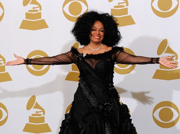 Diana Ross The Grammy Awards 2012 Winners