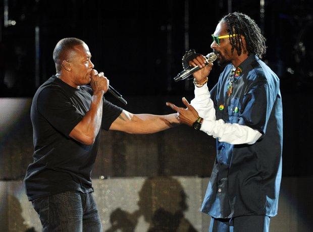 Dr Dre and Snoop Dogg Coachella