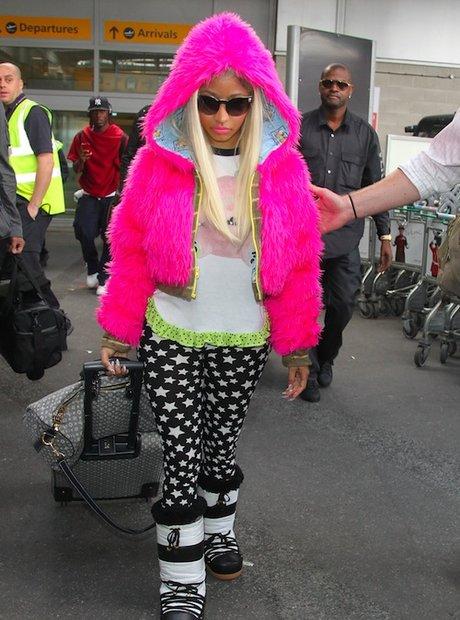 Nicki minaj airport