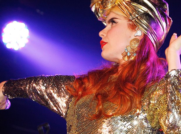 Paloma Faith performing on stage