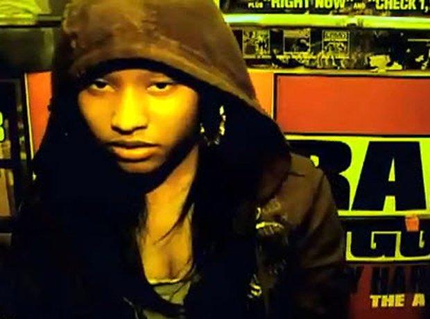Nicki Minaj with before she was famous