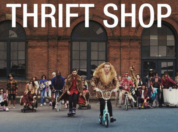 Thrift Shop Single Cover