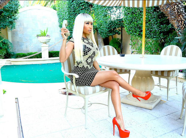Nicki Minaj shooting new video
