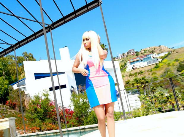 Nicki Minaj photoshoot