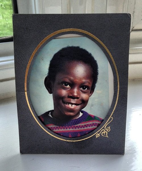 Dizzee Rascal baby picture