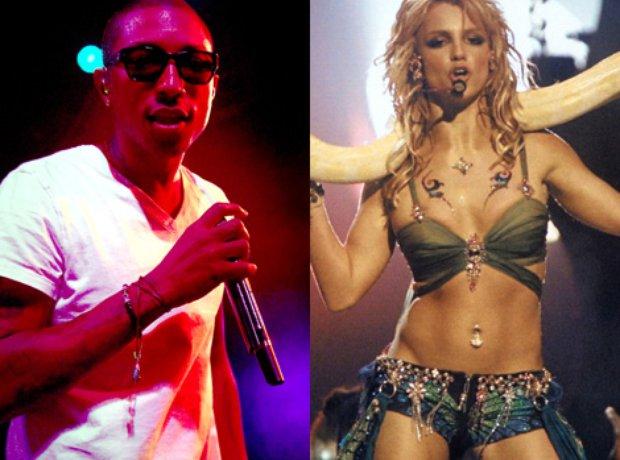 Pharrell and Britney Spears